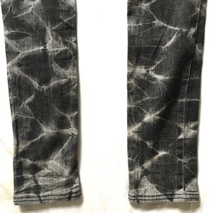 Mossimo Supply Co. Jeans - Black Grey Bleached Skinny Jegging Jeans Sz5 $10